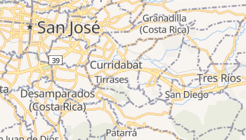 Mapa online de Curridabat
