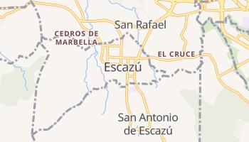 Mapa online de Escazú