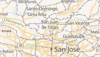 Mapa online de Tibás