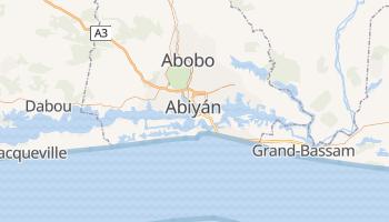 Mapa online de Abiyán