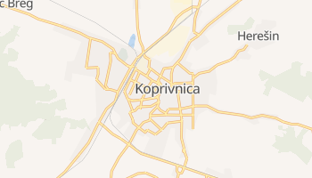 Mapa online de Koprivnica