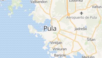 Mapa online de Pula