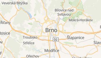 Mapa online de Brno