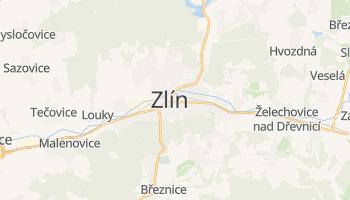 Mapa online de Zlín