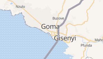 Mapa online de Goma