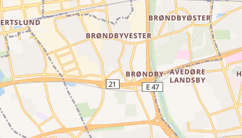 Mapa online de Brøndby