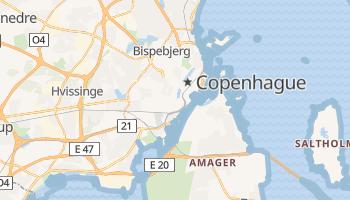 Mapa online de Copenhague