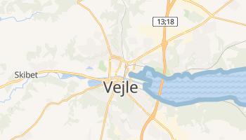 Mapa online de Vejle