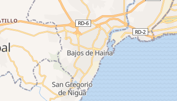 Mapa online de Bajos de Haina