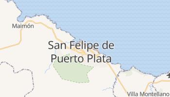 Mapa online de San Felipe de Puerto Plata