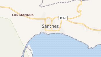 Mapa online de Sánchez