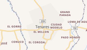 Mapa online de Tenares