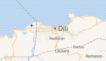 Mapa online de Dili