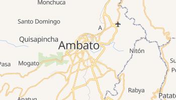 Mapa online de Ambato