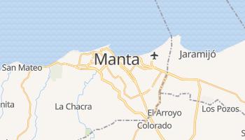 Mapa online de Manta