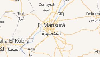 Mapa online de El Mansura