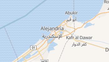 Mapa online de Alejandría