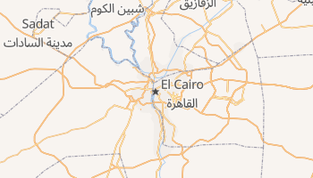 Mapa online de El Cairo
