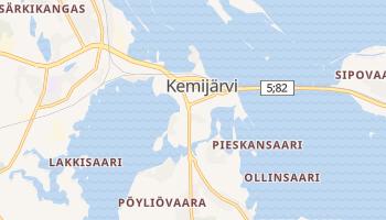 Mapa online de Kemijärvi