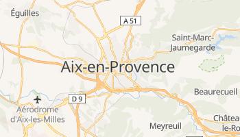 Mapa online de Aix-en-Provence