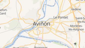 Mapa online de Aviñón