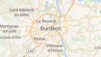 Mapa online de Burdeos