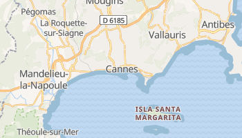Mapa online de Cannes