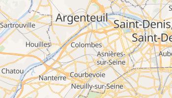 Mapa online de Colombes