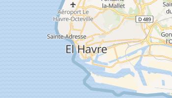 Mapa online de El Havre