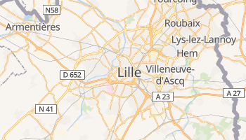 Mapa online de Lille