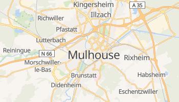 Mapa online de Mulhouse