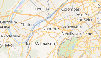 Mapa online de Nanterre