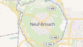 Mapa online de Neuf-Brisach