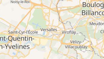 Mapa online de Versalles