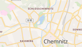 Mapa online de Chemnitz
