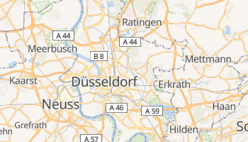 Mapa online de Düsseldorf