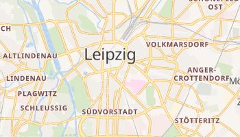 Mapa online de Leipzig