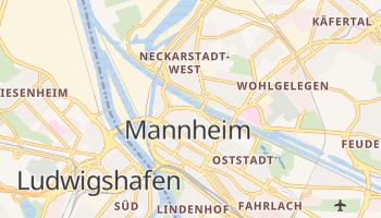 Mapa online de Mannheim