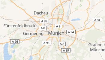 Mapa online de Múnich