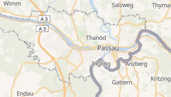 Mapa online de Passau