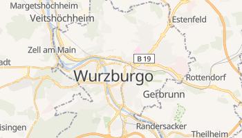 Mapa online de Wurzburgo