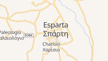 Mapa online de Esparta