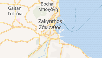 Mapa online de Zante