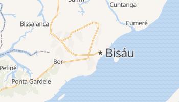 Mapa online de Bissau