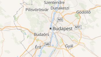 Mapa online de Budapest