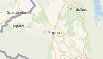 Mapa online de Sopron