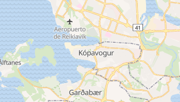 Mapa online de Kópavogur
