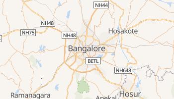 Mapa online de Bangalore