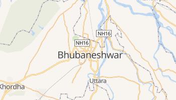 Mapa online de Bhubaneshwar