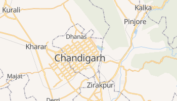 Mapa online de Chandigarh